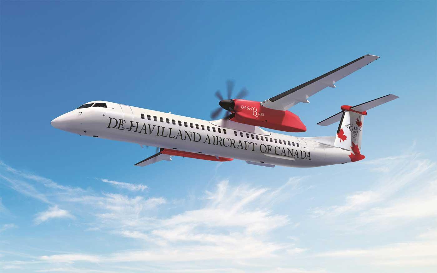 de Havilland Q400