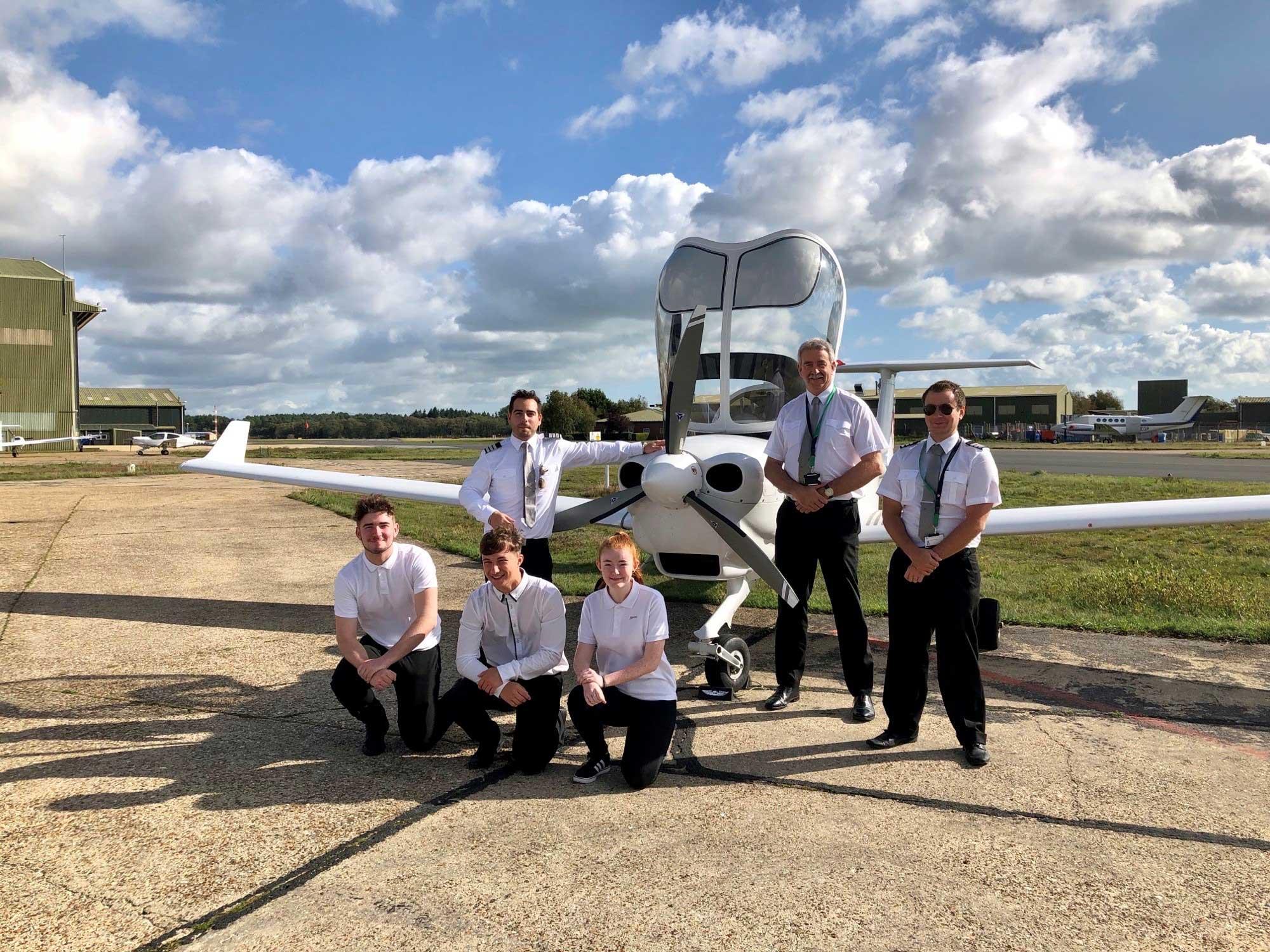 Princes Trust flying scholarships
