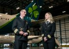 Aer Lingus father daughter pilots