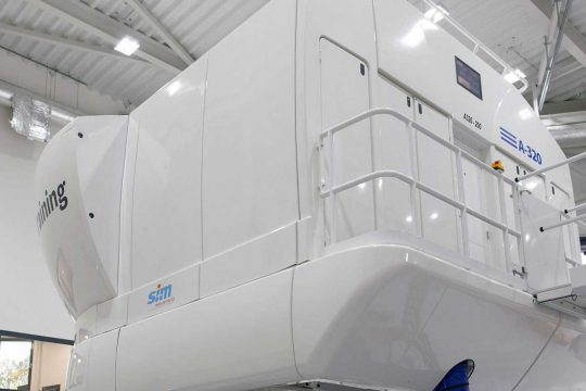 BAA Training A320 simulator
