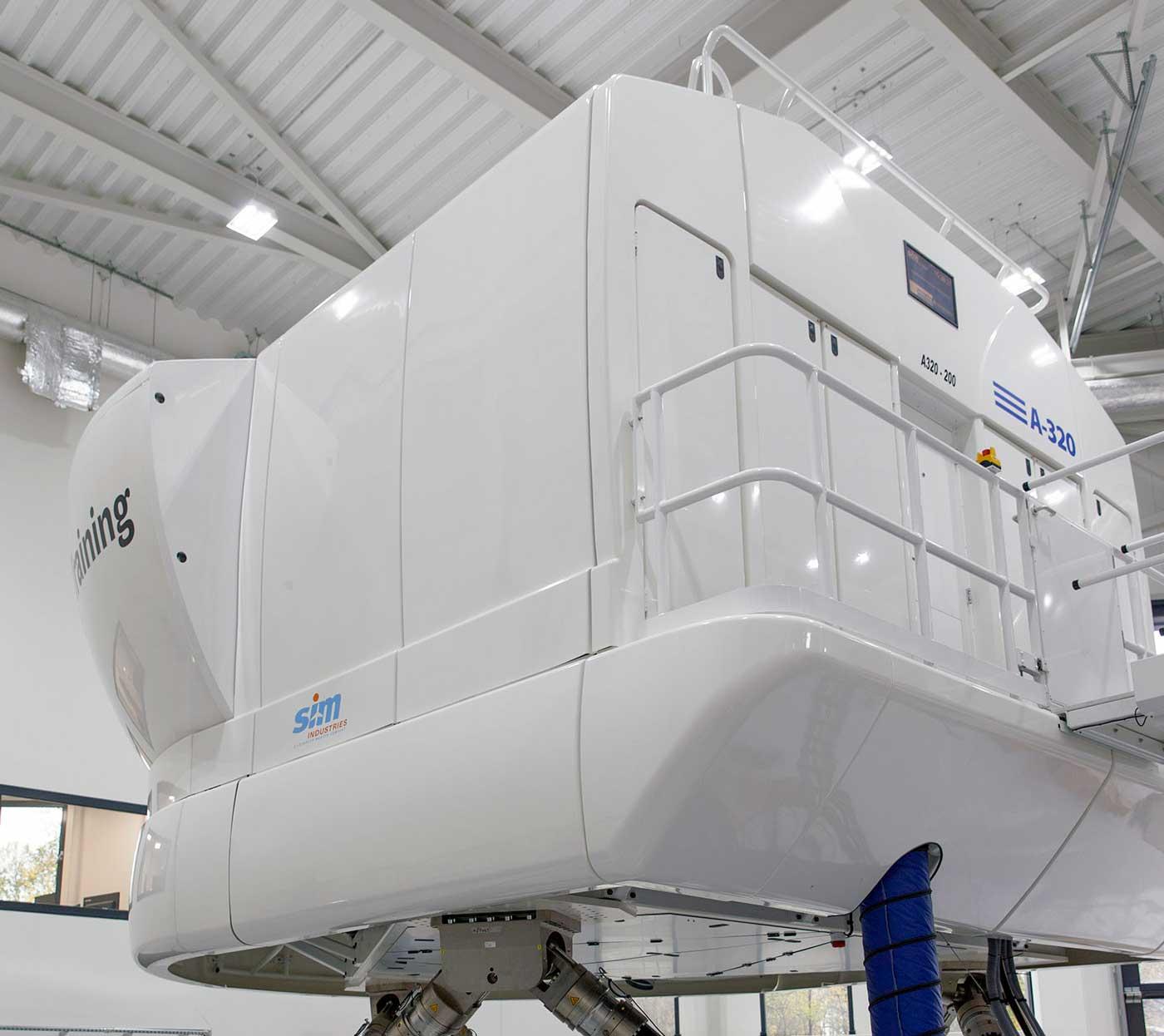 BAA Training A320 simulator