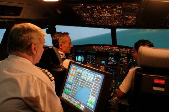 Quadrant Pilot simulator