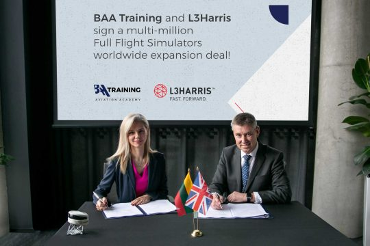 BAA Training L3Harris deal
