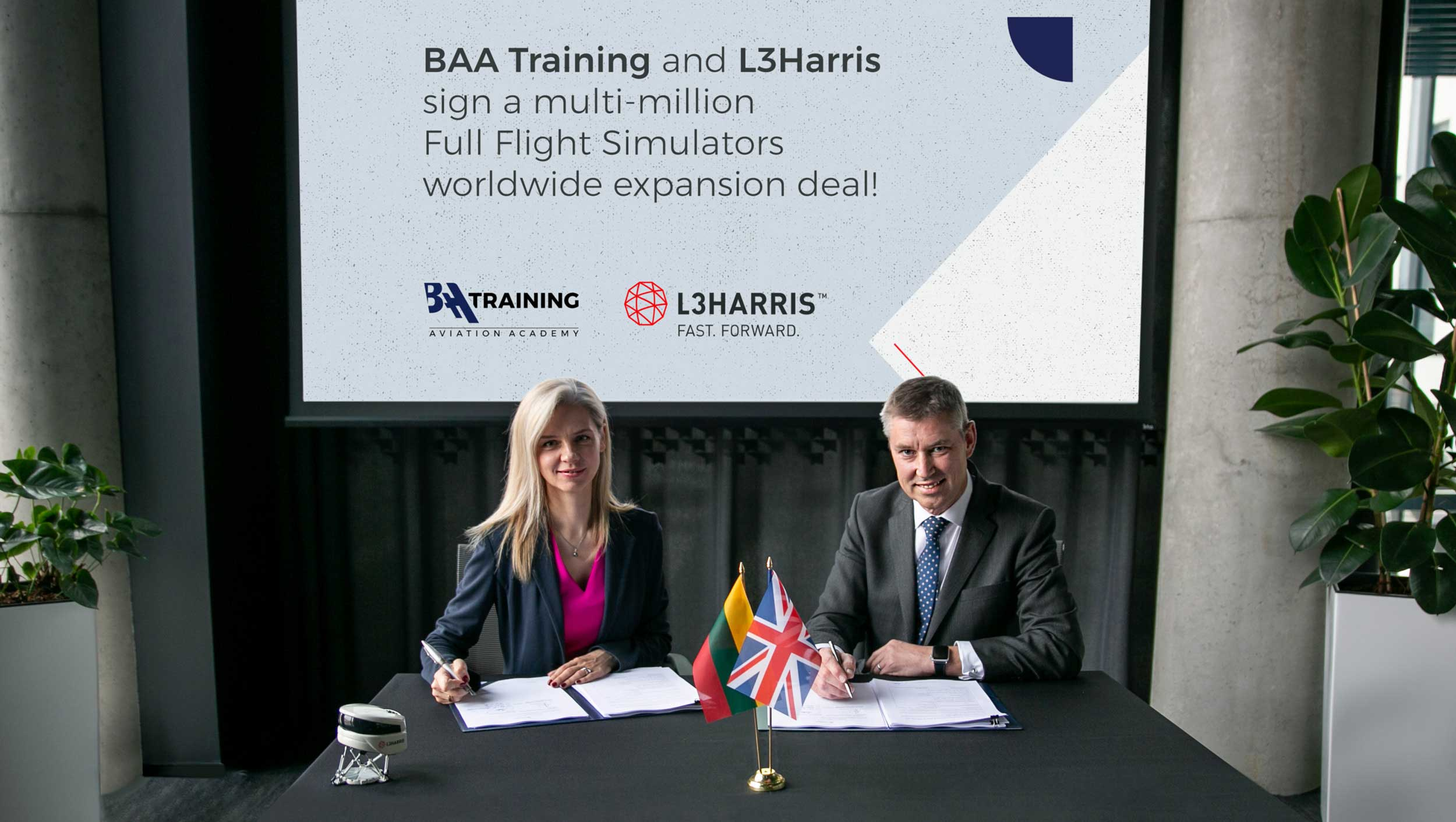 BAA Training L3Harris deal