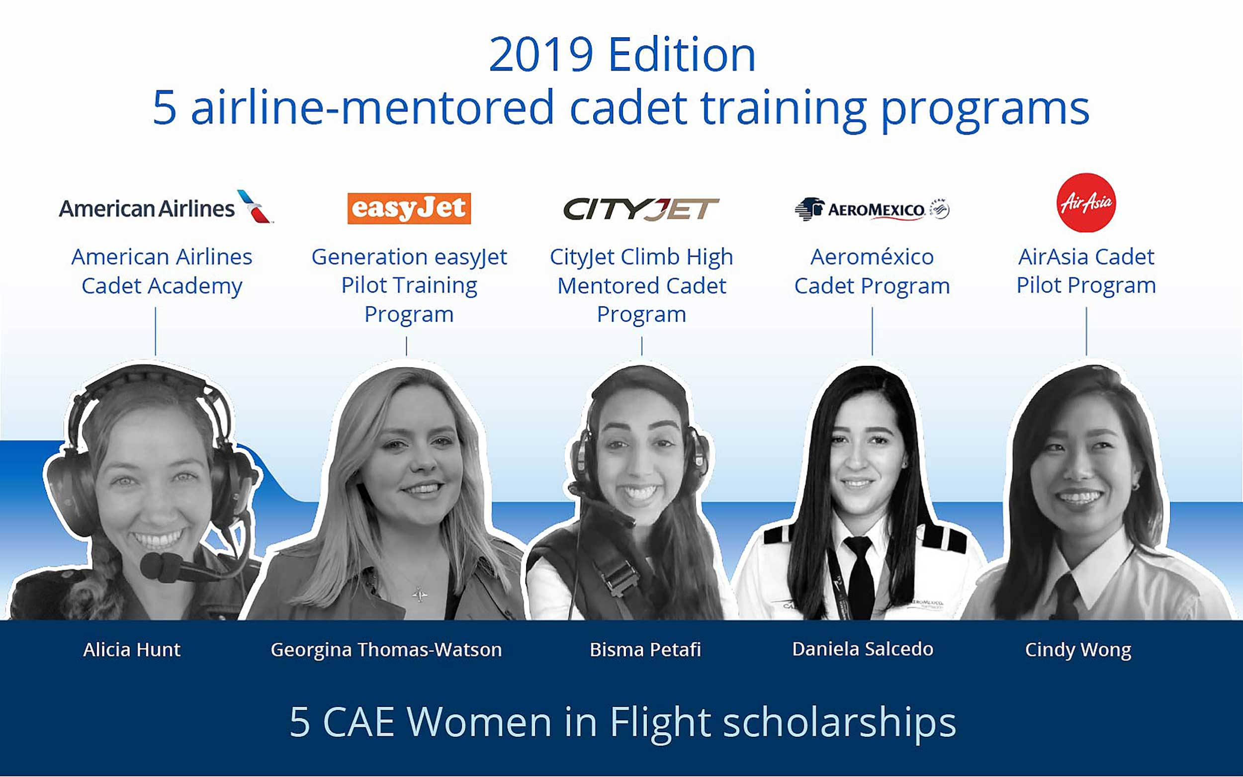 CAE women scholarships