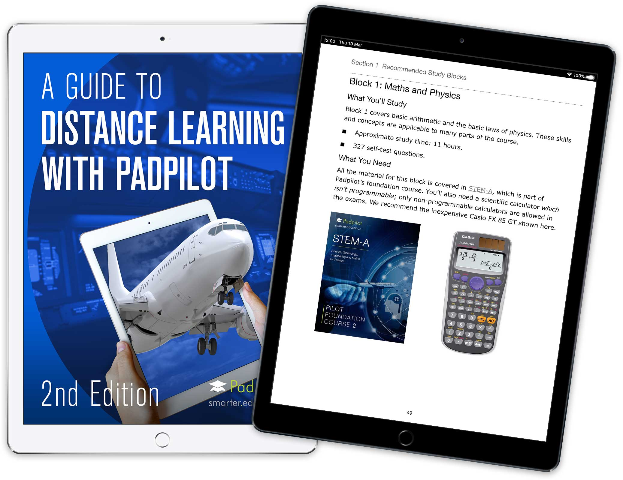 Distance Learning Padpilot