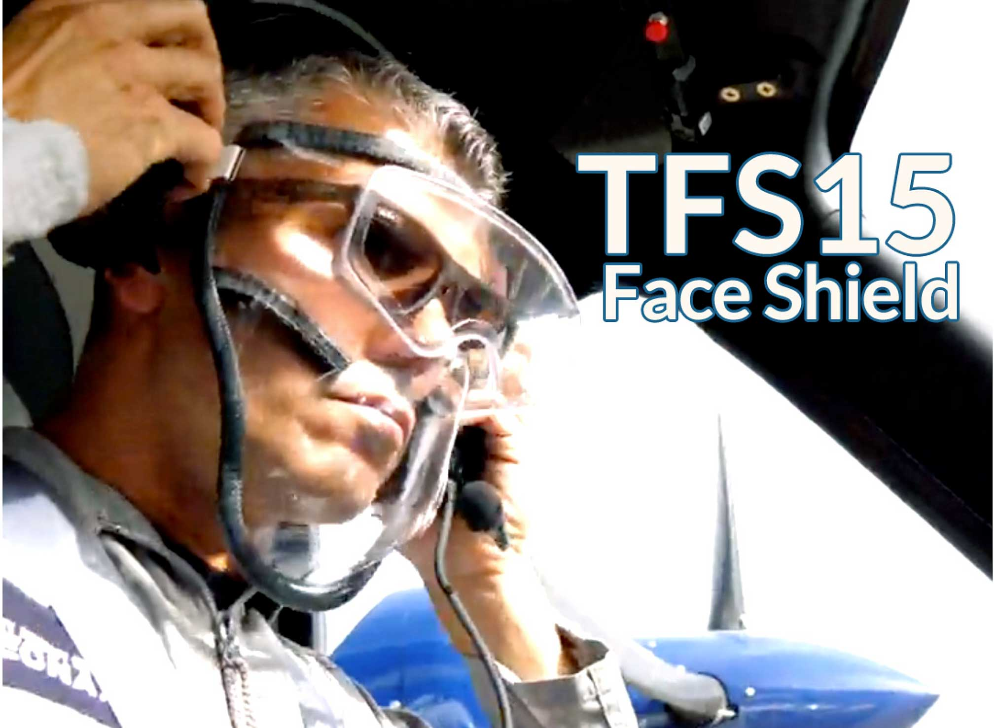Tecnam facemask One Air