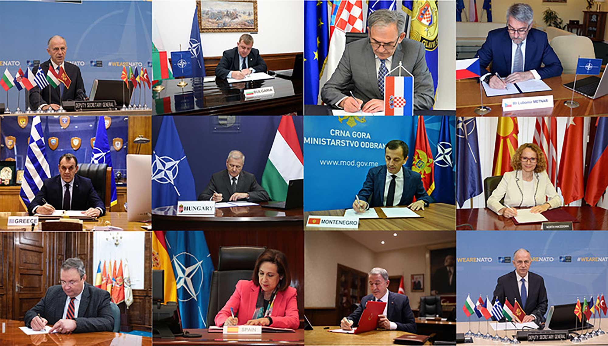 NATO ministers