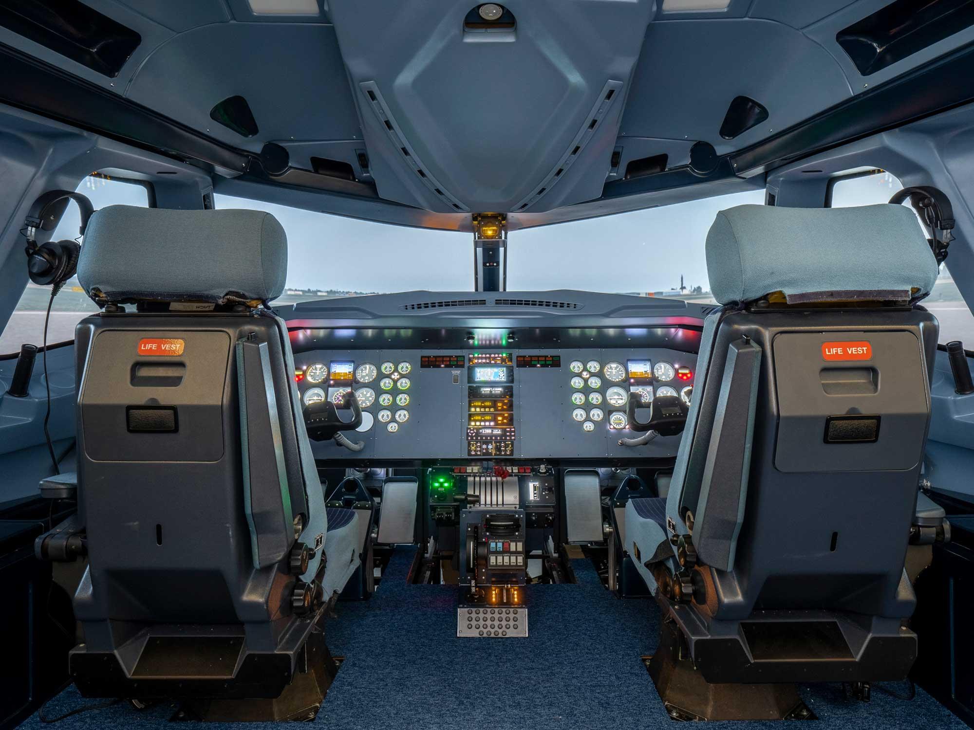 Simloc FC360 simulator