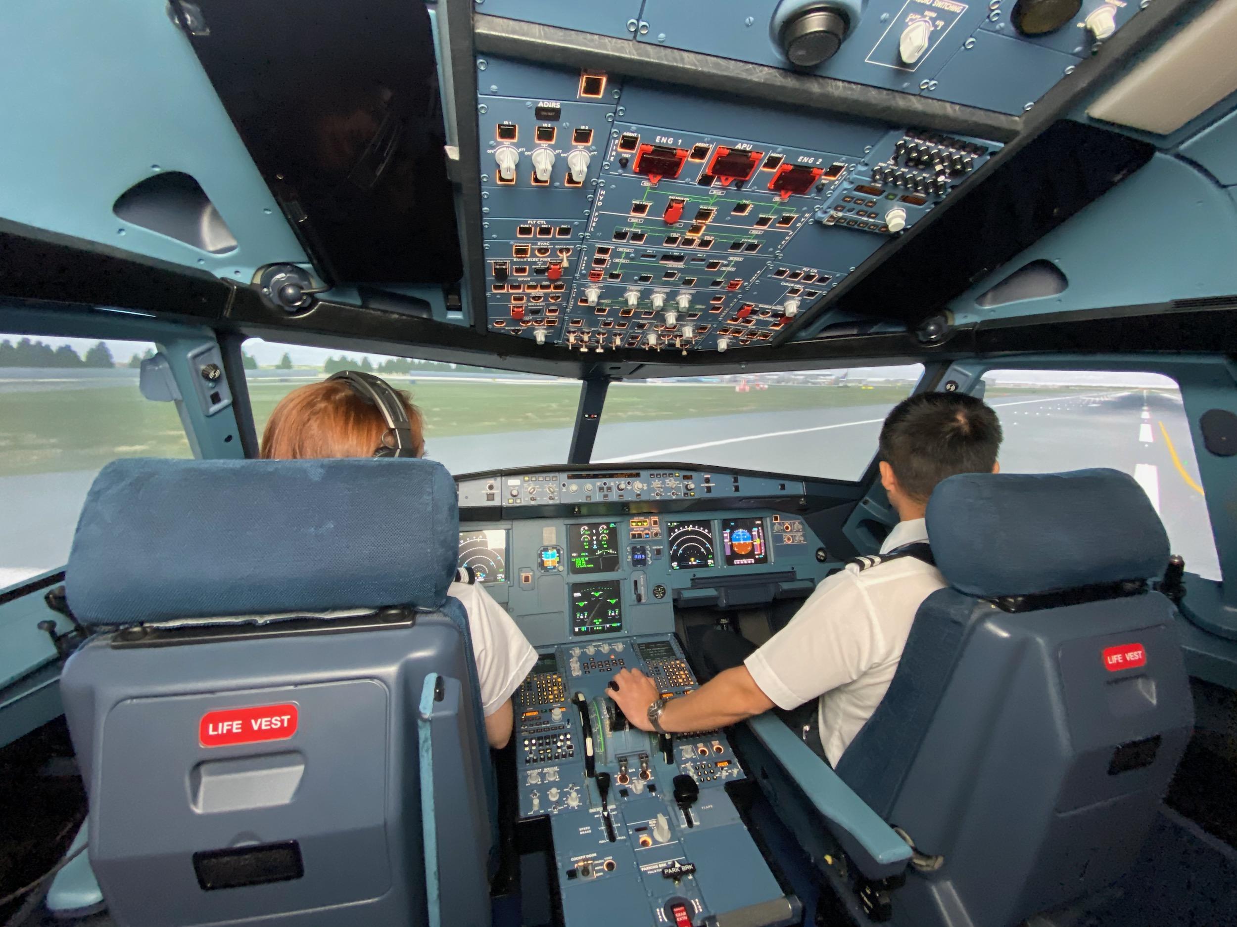 Pilot Training simulator