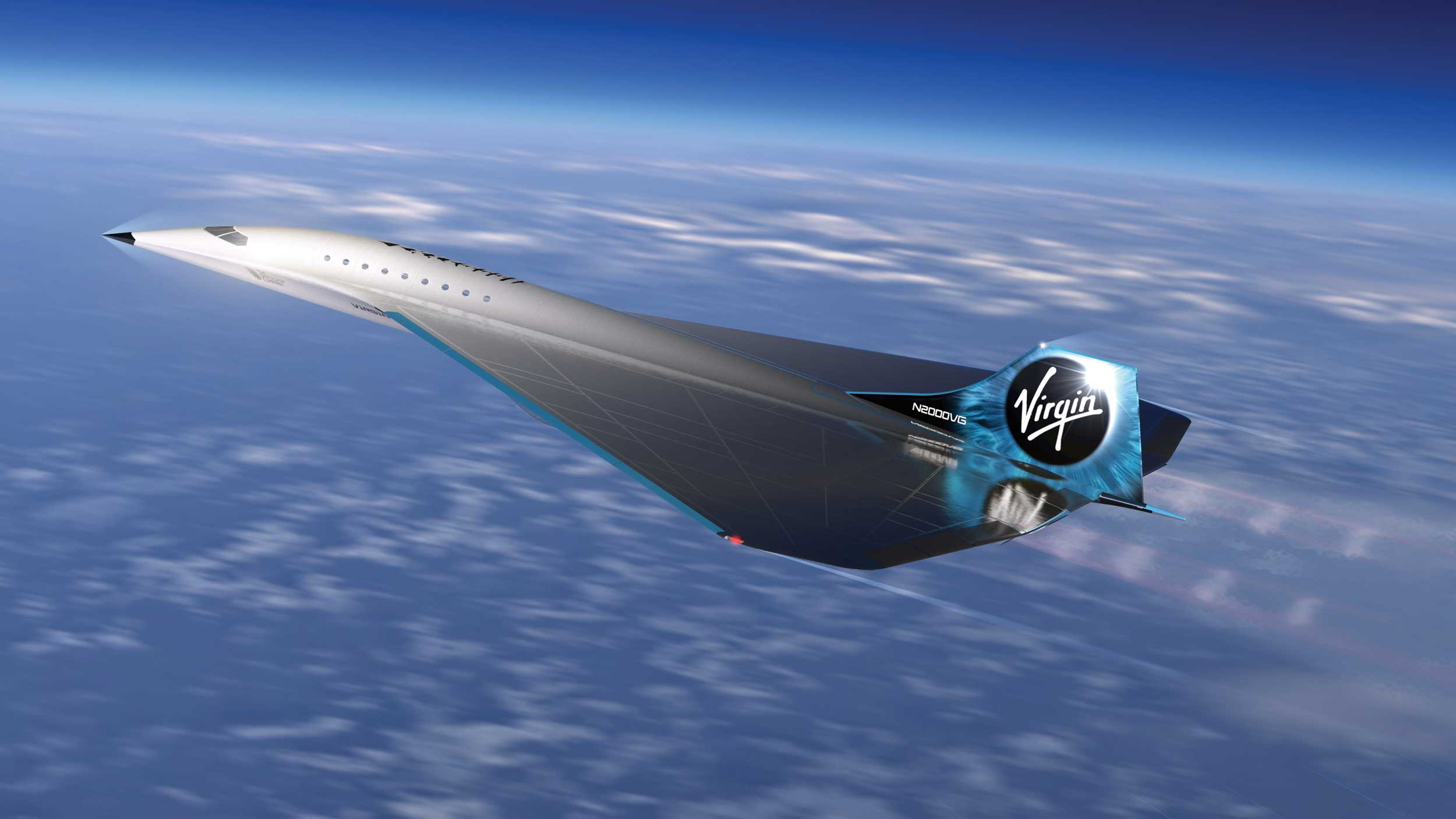 Virgin galactic supersonic