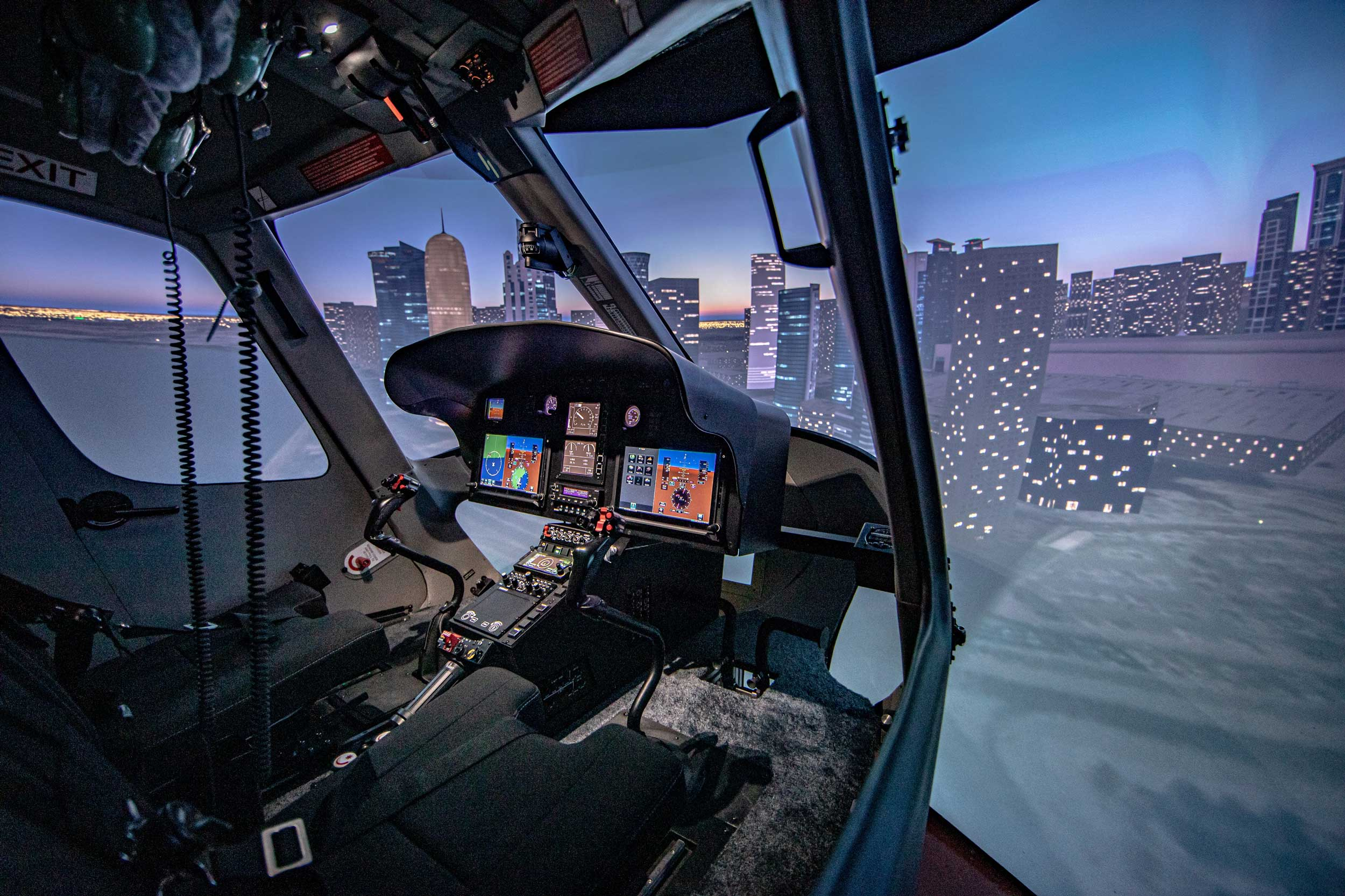 Entrol H125 simulator