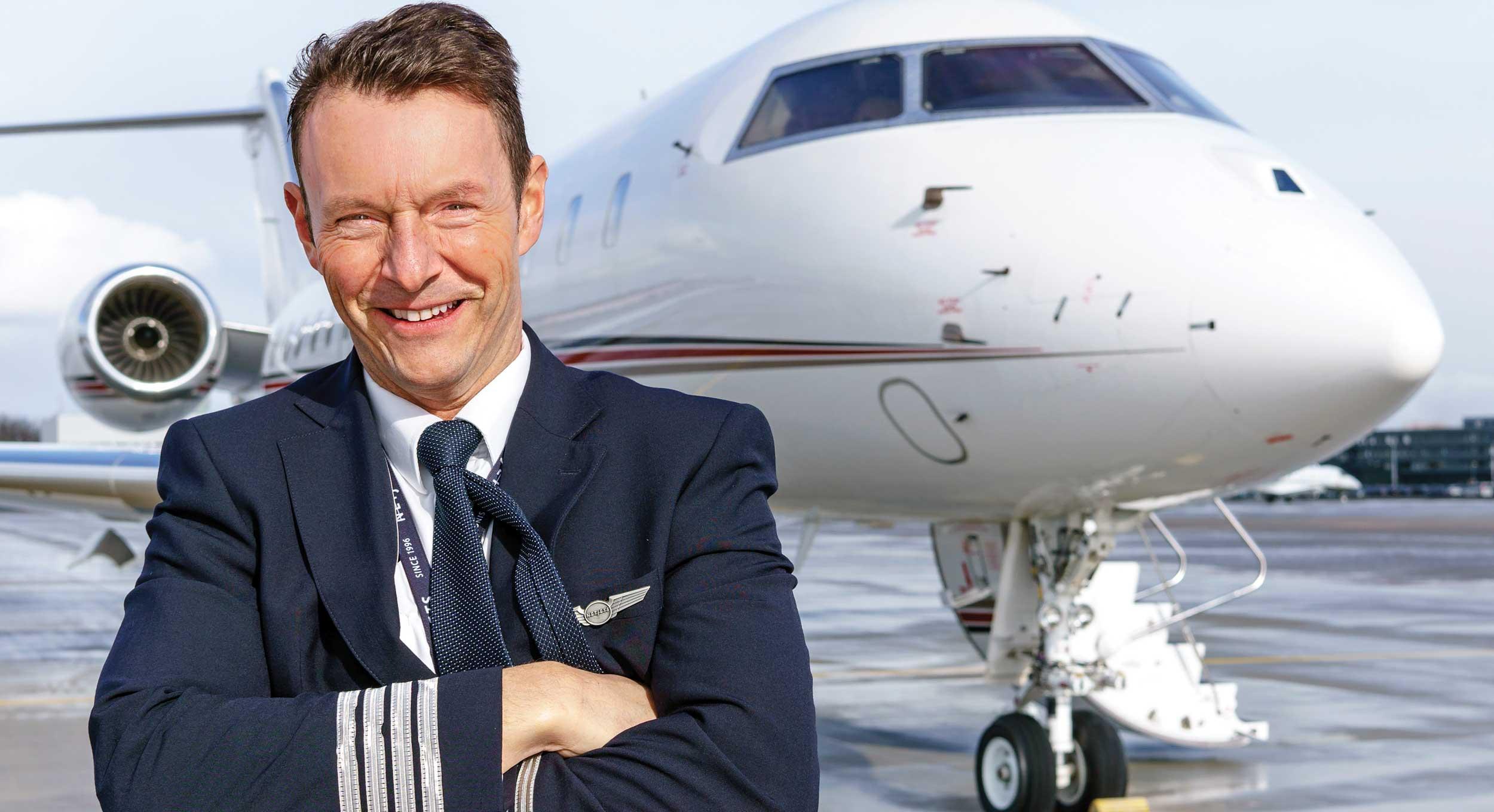 Frank van Houten Private jet