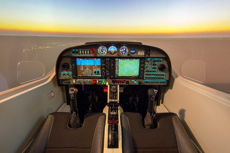 Alsim DA42 simulator