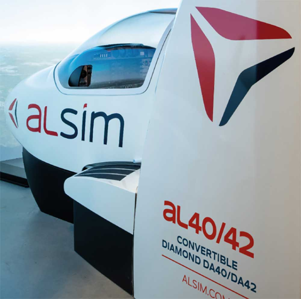 Alsim convertible simulator