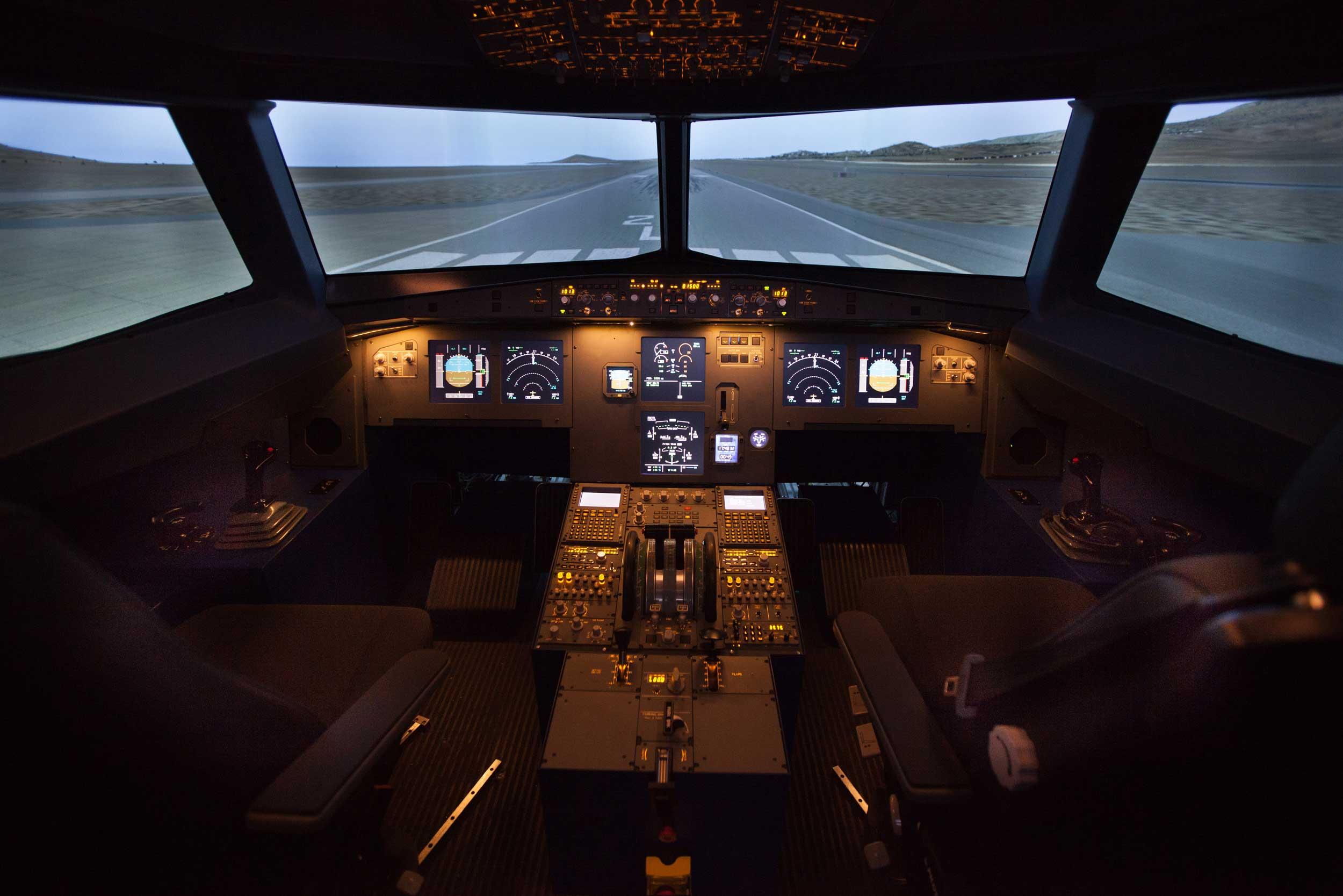 entrol A320 FTD