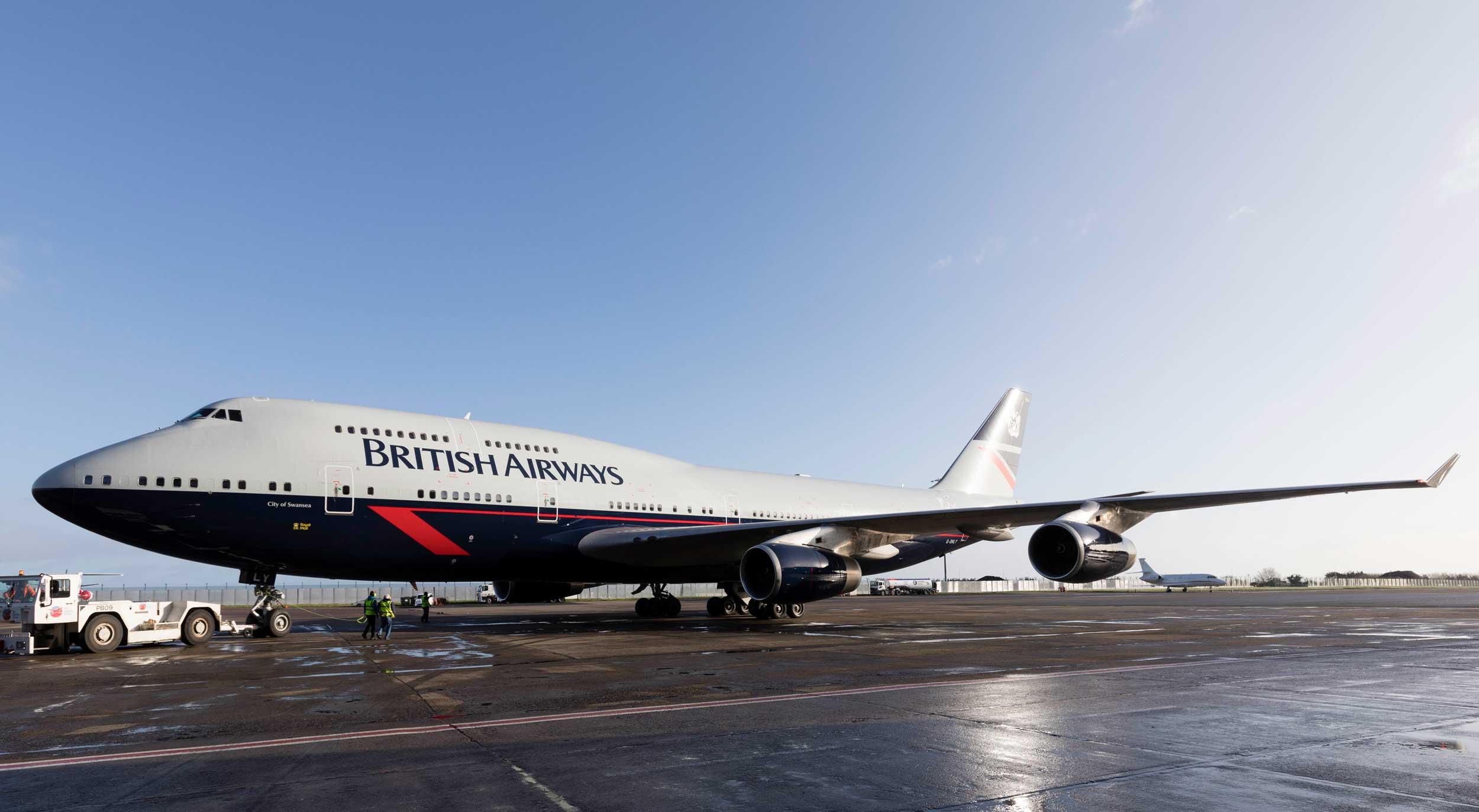 British Airways 747 Jumbo