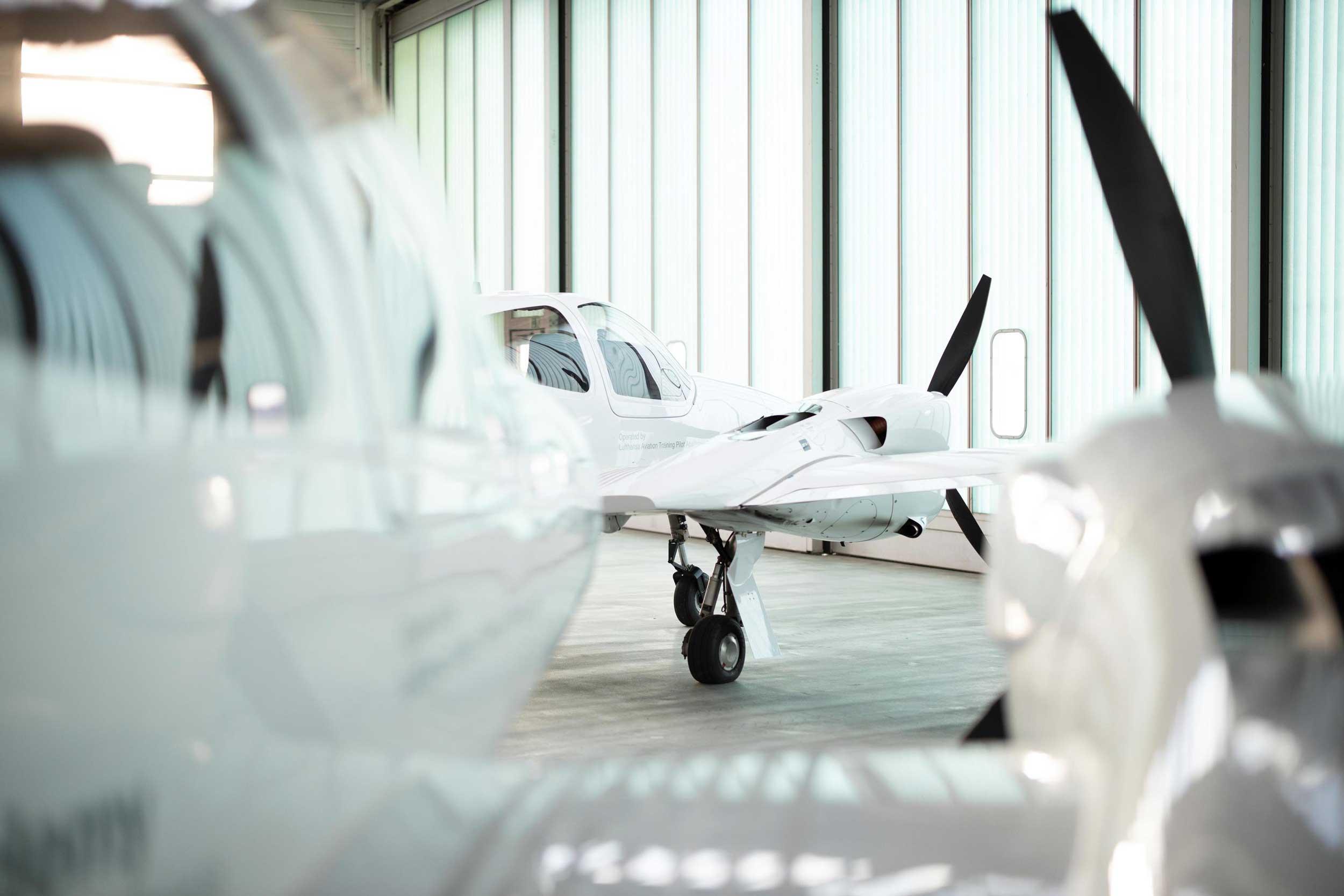 Lufthansa pilot training