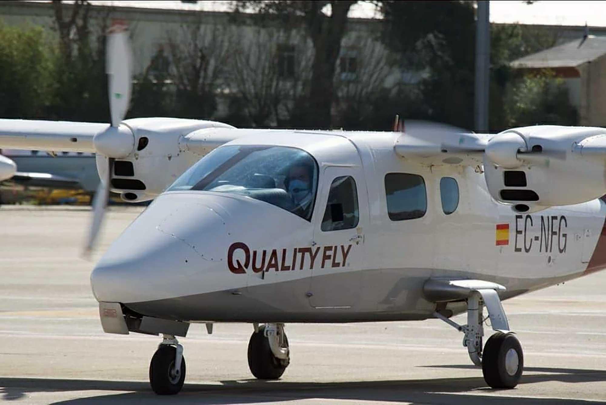 Quality Fly Tecnam twin