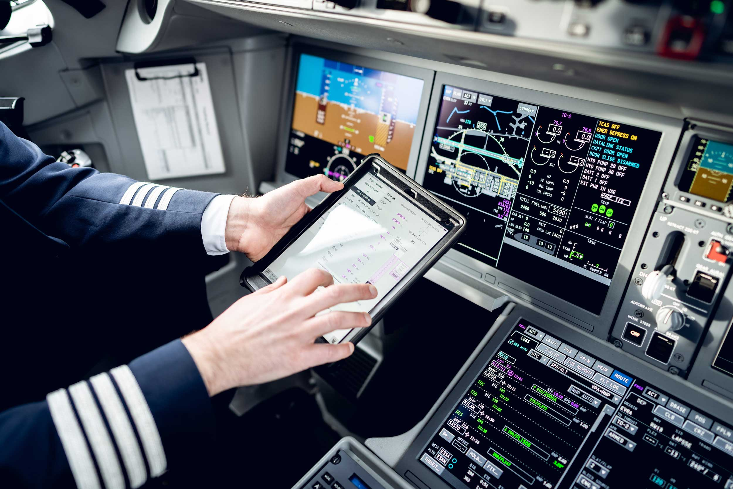 airbaltic flight plan ipad