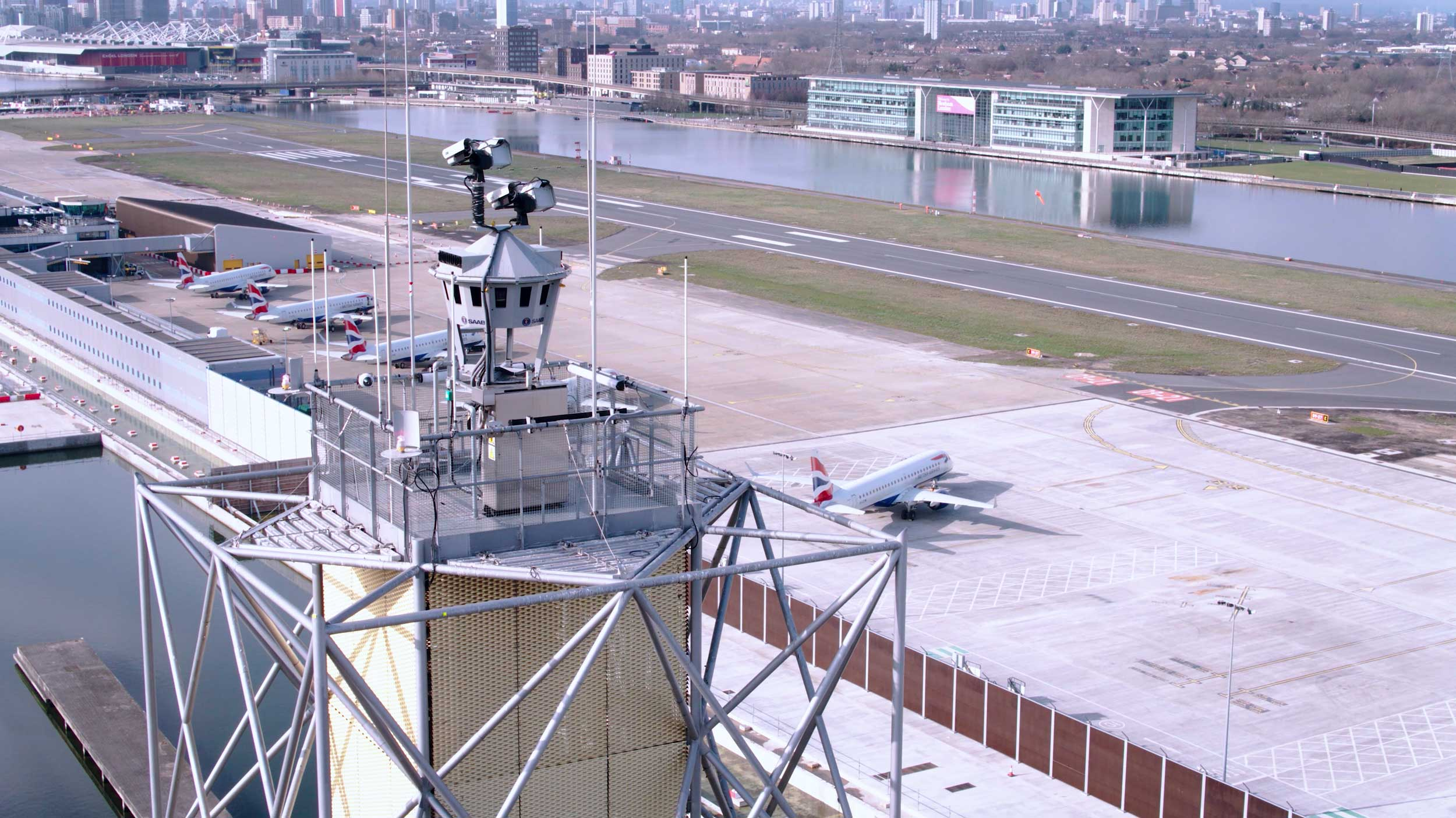 London City Airport tower