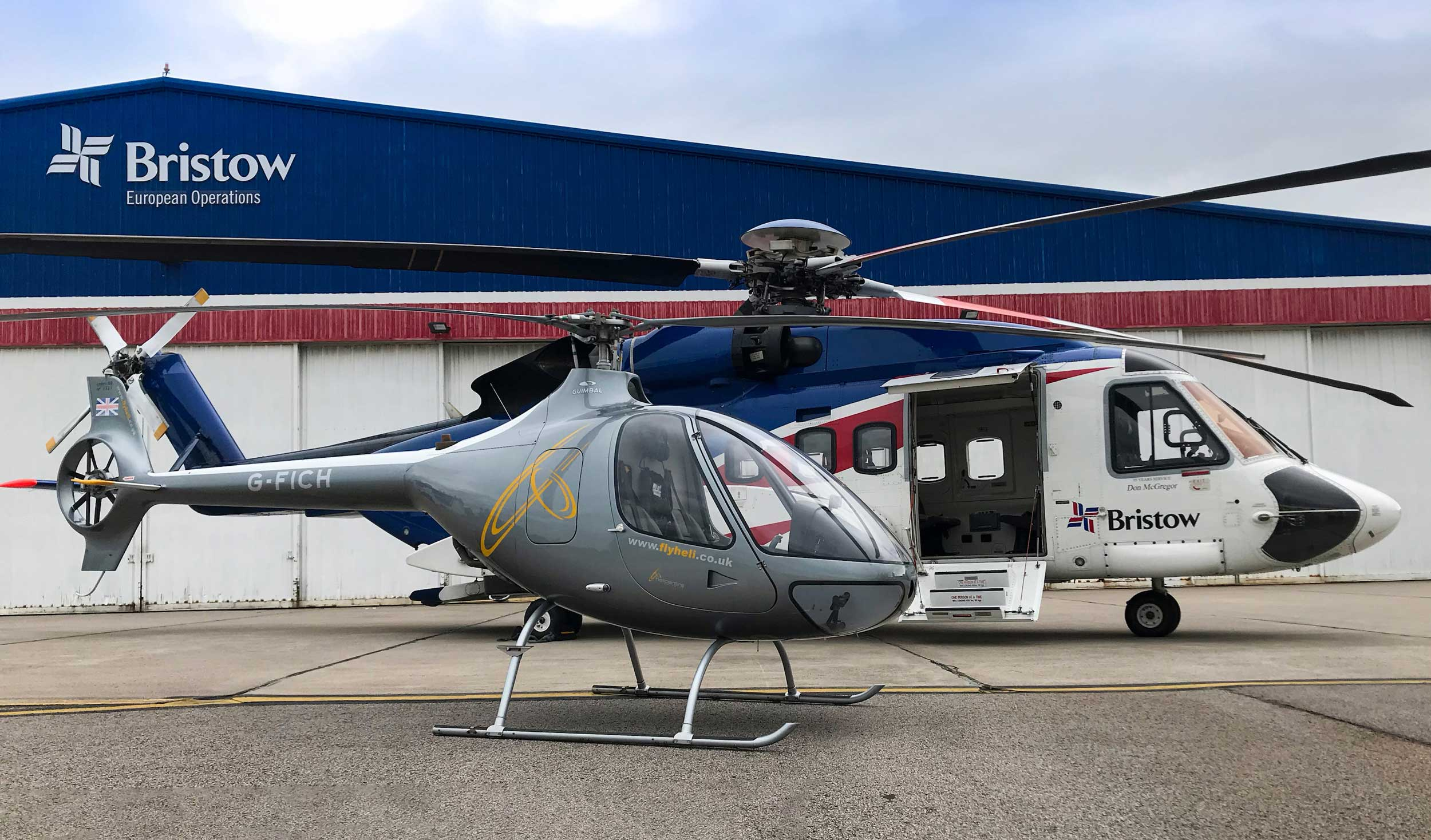 Cabri G2 Sikorsky S-92