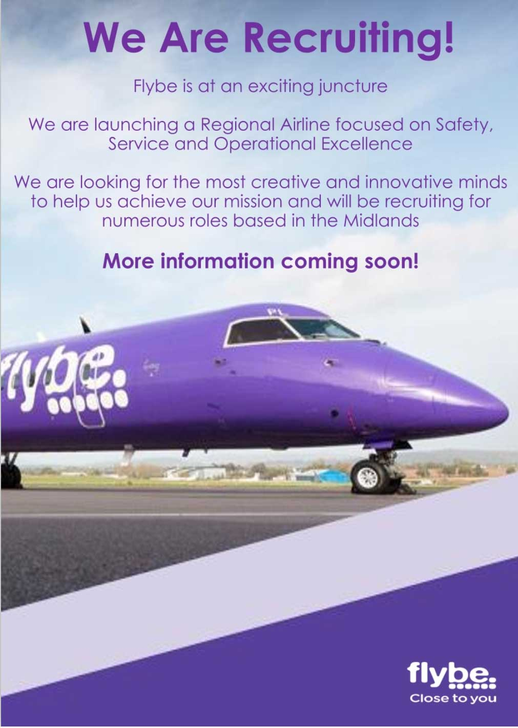 Flybe recruiting