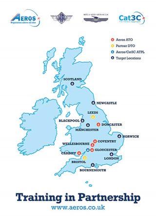 Aeros locations UK