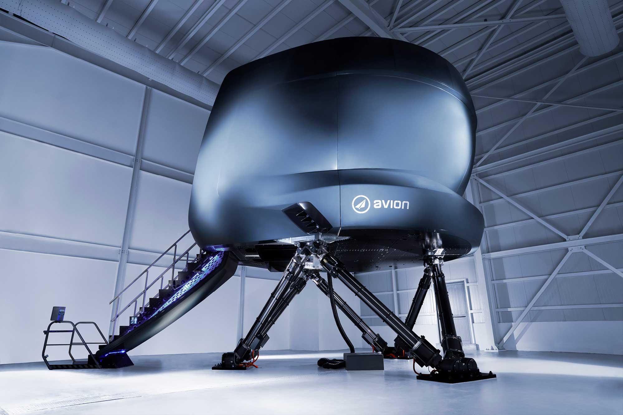 Avion full flight simulator