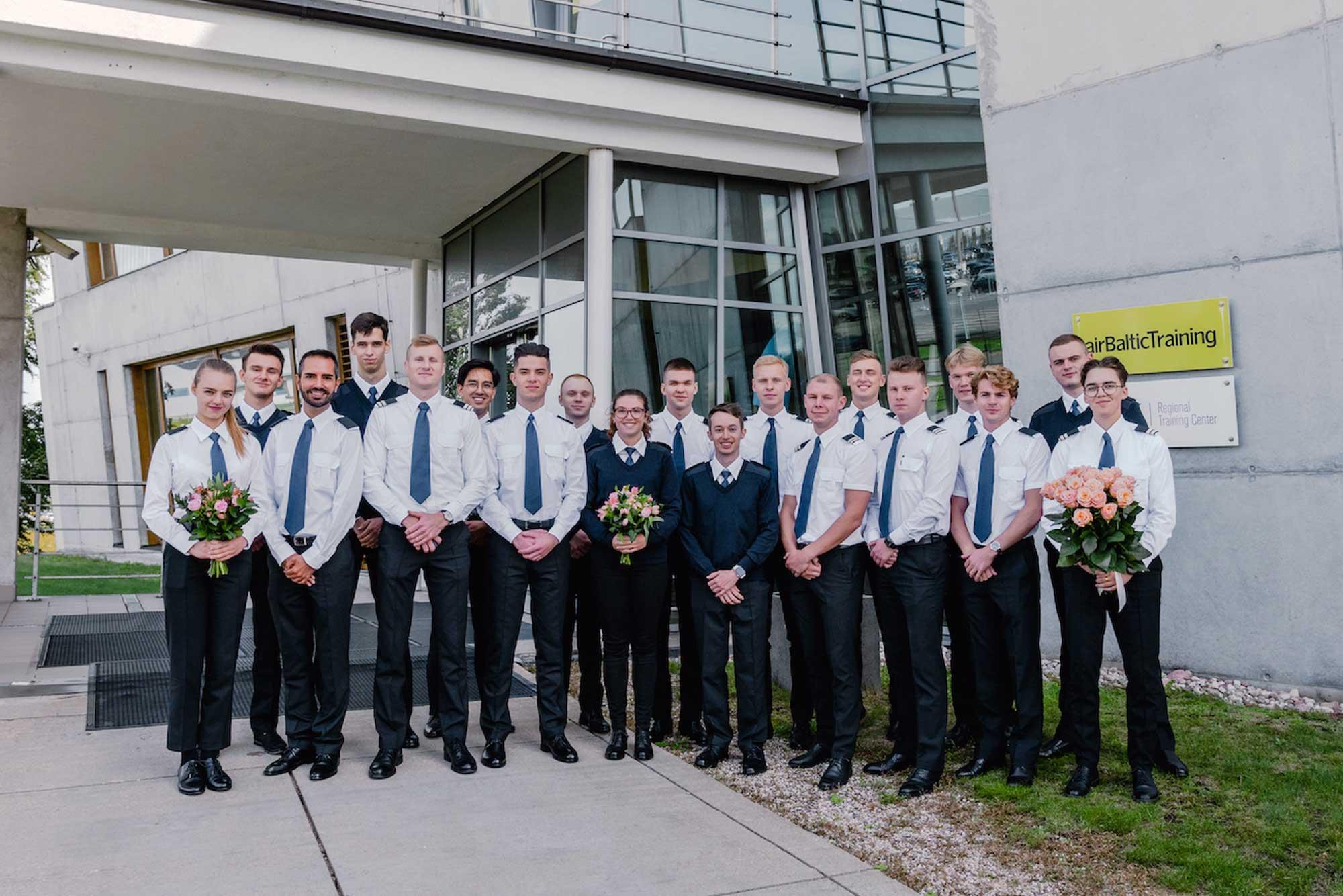 AirBaltic graduates
