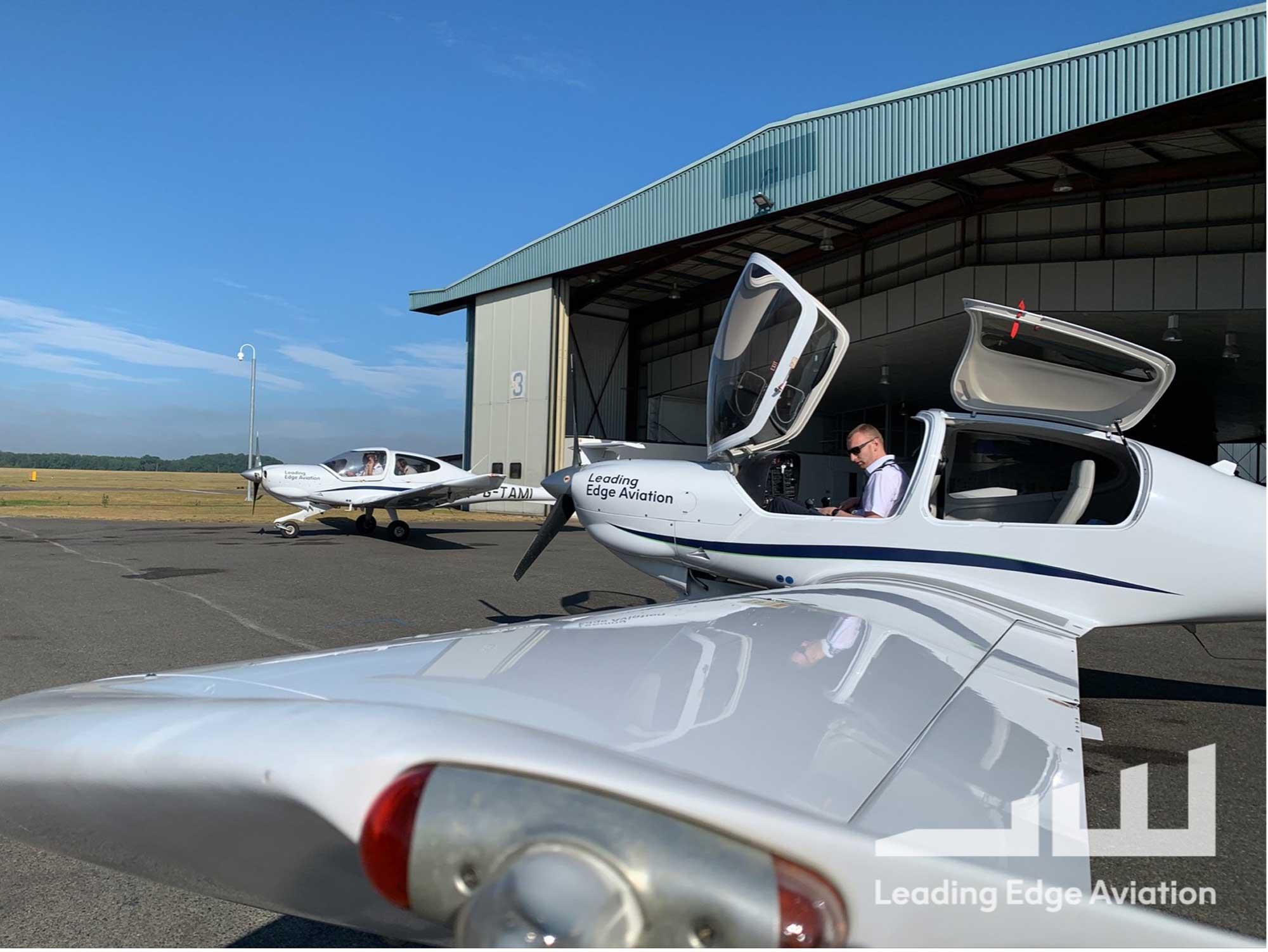 LEA maintenance hangar