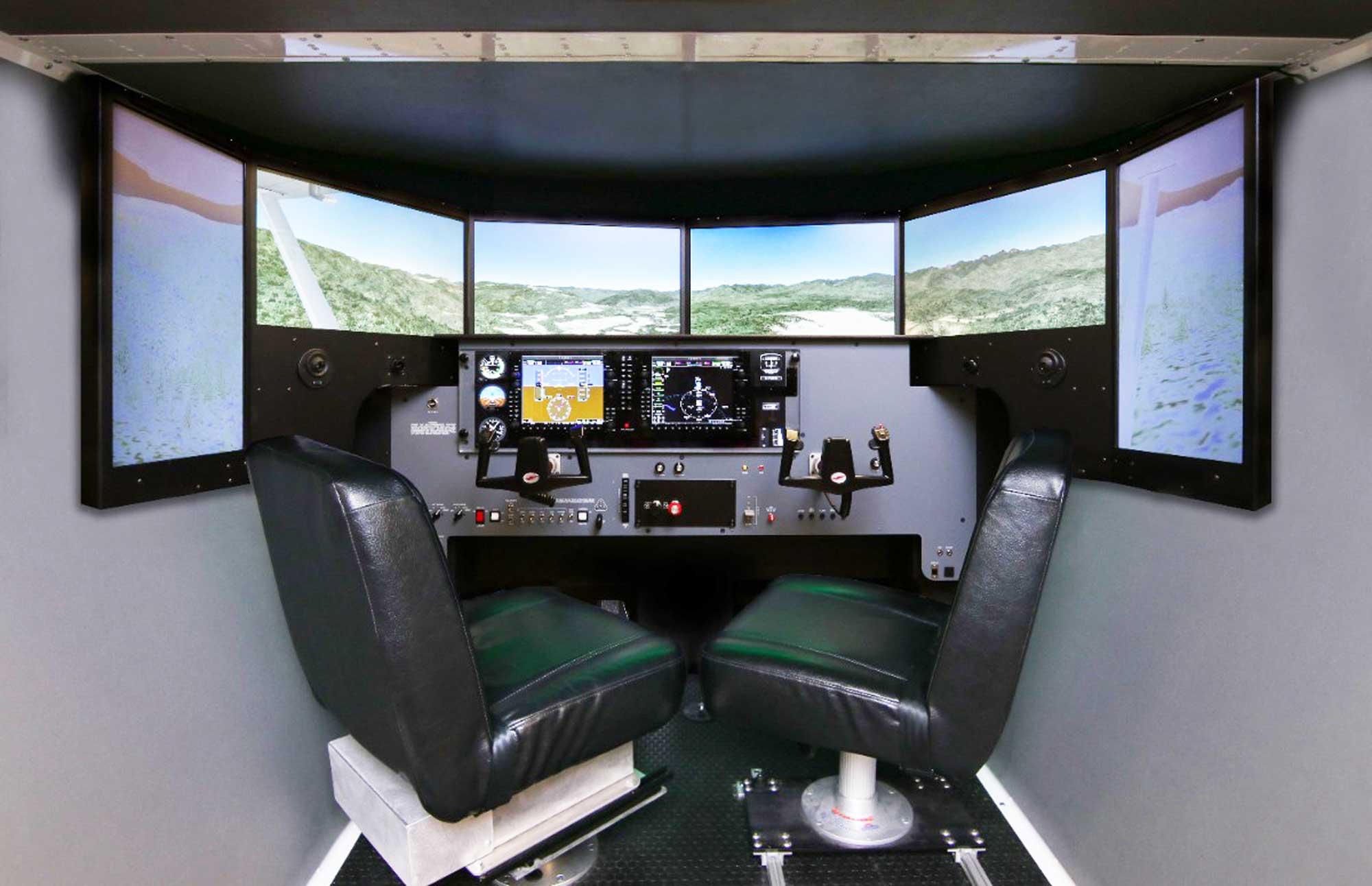 Redbird MCX simulator
