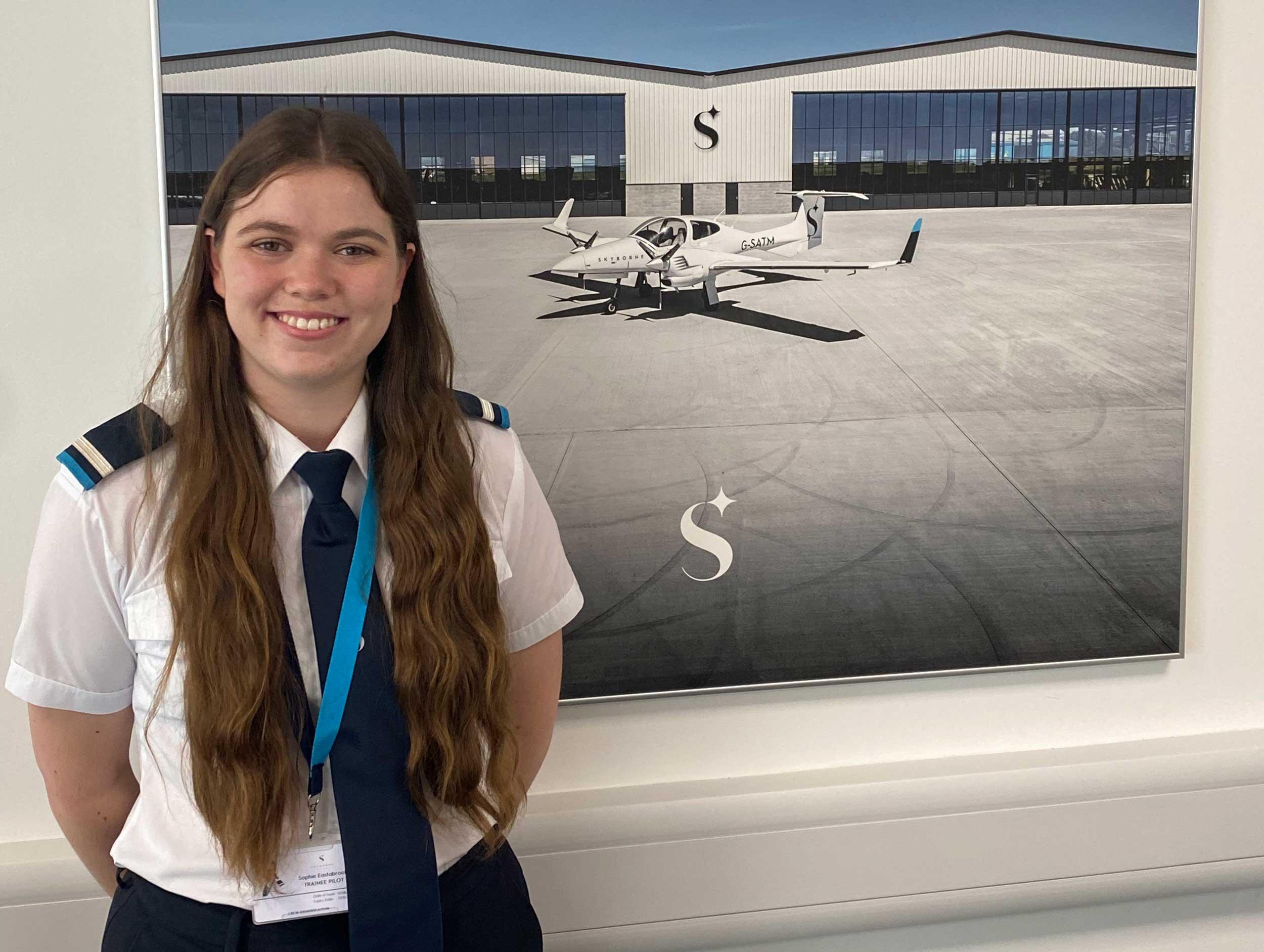 Sophie Easatbrook Skyborne Airline Academy